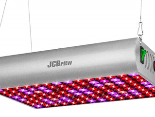 JCBritw Releases The 300W Plus Full Spectrum LED Grow Light on Sep 2. 2018