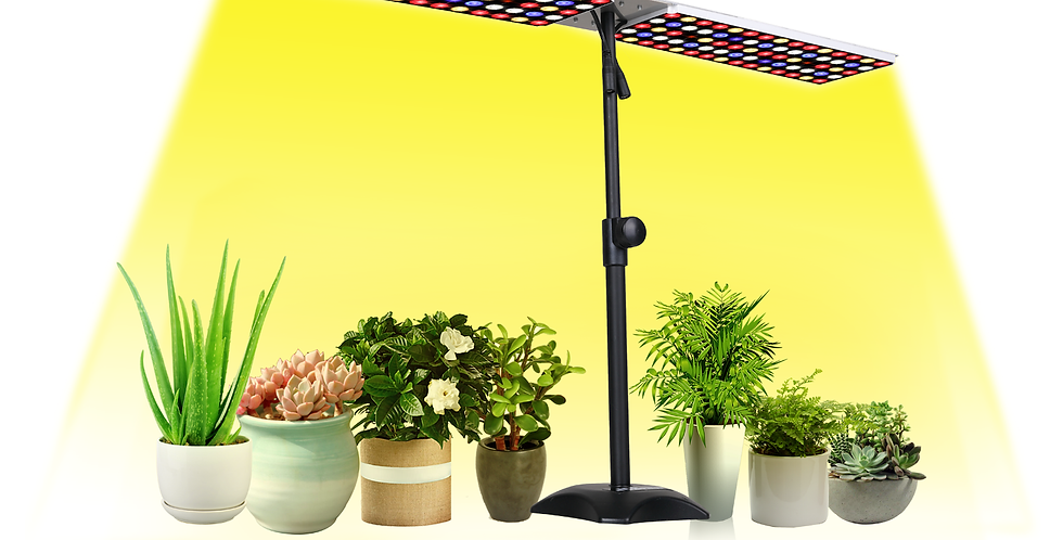 JCBritw 100W LED Grow Light Stand and Hanging White Red Blue Full Spectrum
