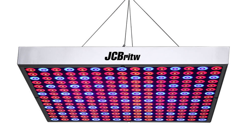 JCBritw 15W LED Grow Light with 225PCs Red and Blue Growing Lamps