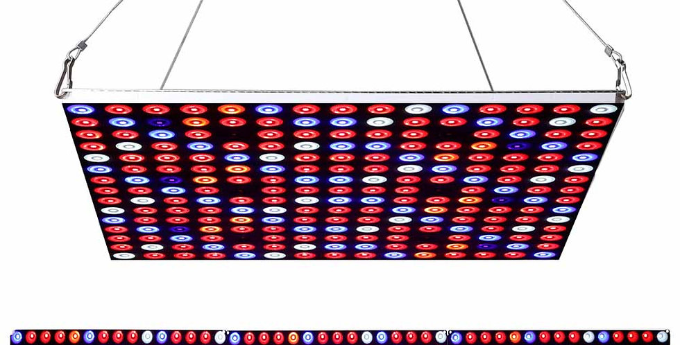 JCBritw 2019 New Transformer 90W LED Grow Light 225 LEDs Full Spectrum