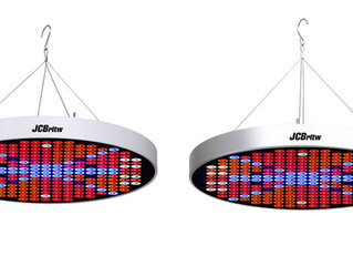 JCBritw Releases its Latest 50W Full Spectrum UFO LED Grow Light on October 19