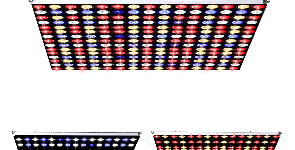 JCBritw 150W LED Grow Light Panel Dimmable with Timer Function Veg Bloom Switch