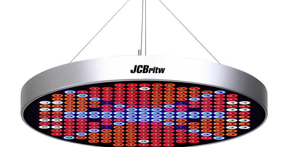 JCBritw 50W LED Grow Light Sliver Full Spectrum for Indoor Plants Veg and Flower
