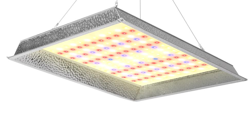 JCBritw 1000W LED Grow Light Veg Bloom Switch Dimmable w/ Timer IP65 Waterproof