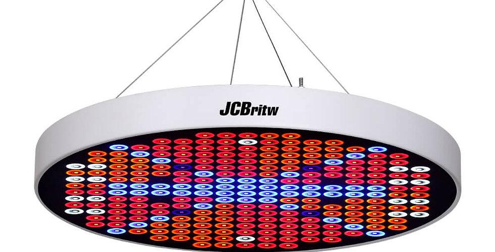 JCBritw 50W LED Grow Light White Full Spectrum for Indoor Plants Veg and Flower