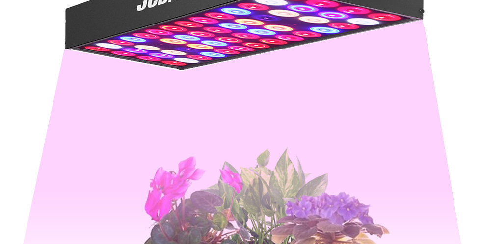 JCBritw LED Grow Light Panel Full Spectrum with UV & IR 30W Growing Lamps