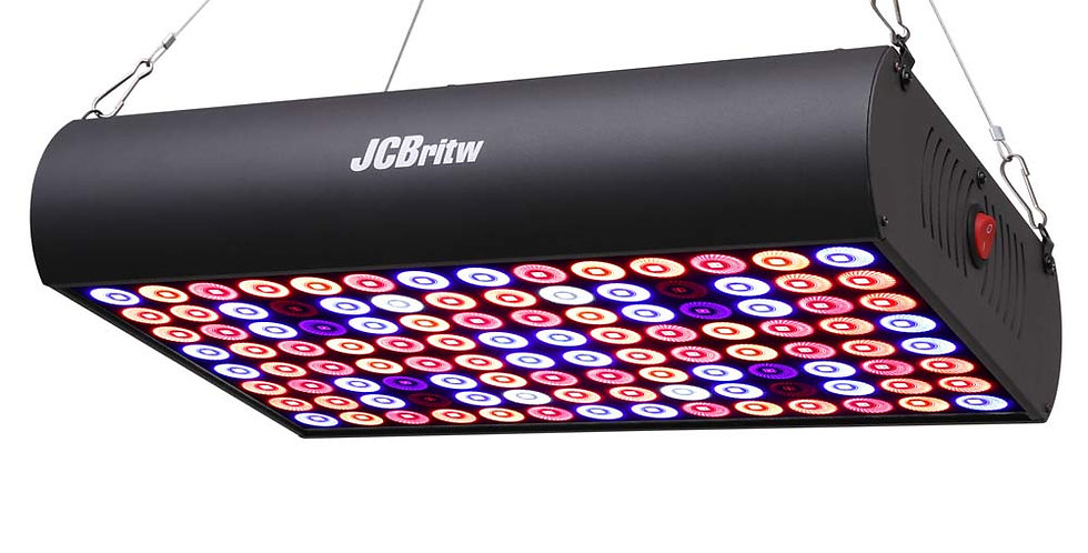 JCBritw 600W Pro LED Grow Light Full Spectrum IR with Daisy Chain