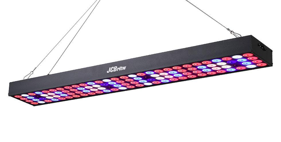 JCBritw 100W Pro B LED Grow Light Panel for Indoor Plants Full Spectrum