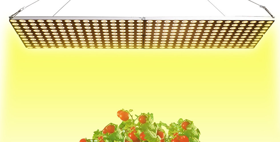 JCBritw 1000W LED Grow Light Full Spectrum IP65 Waterproof Dimmable Auto On/Off