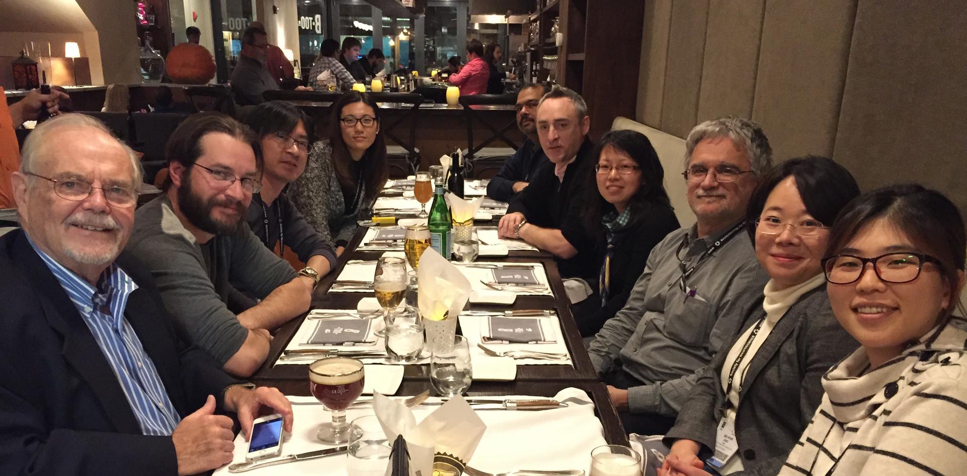 SfN dinner meeting - 2014 Fall