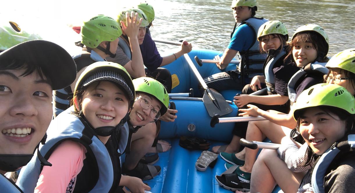 On paddling boat - 2017 Summer