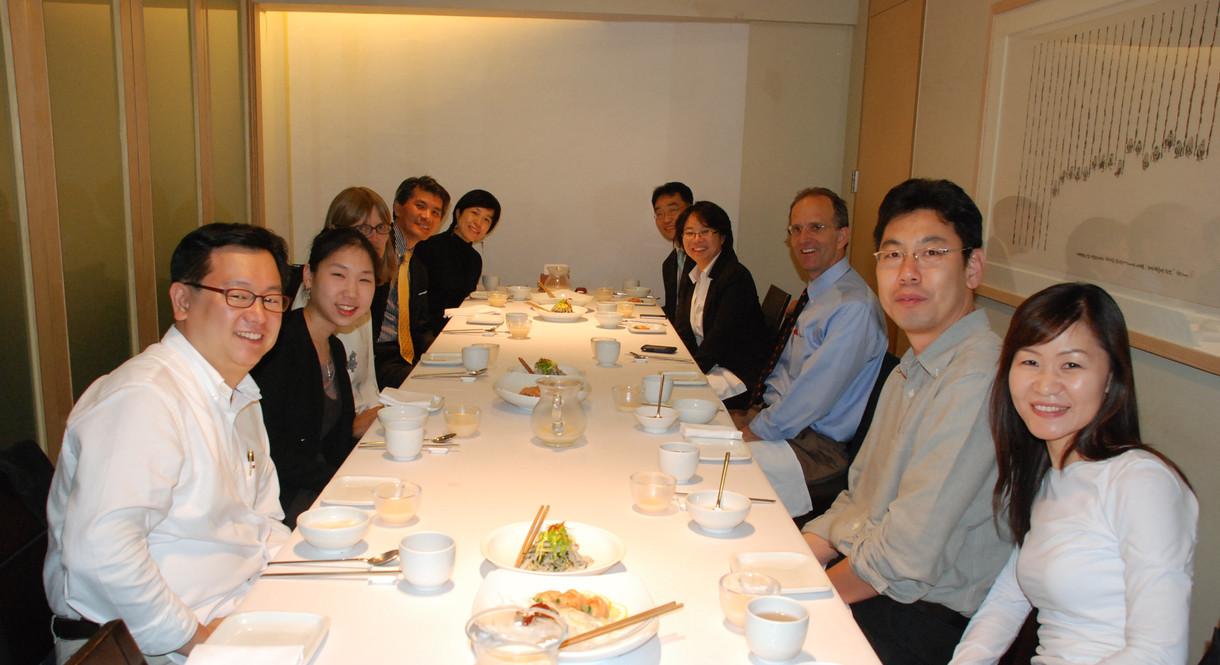Faculty meeting - 2013