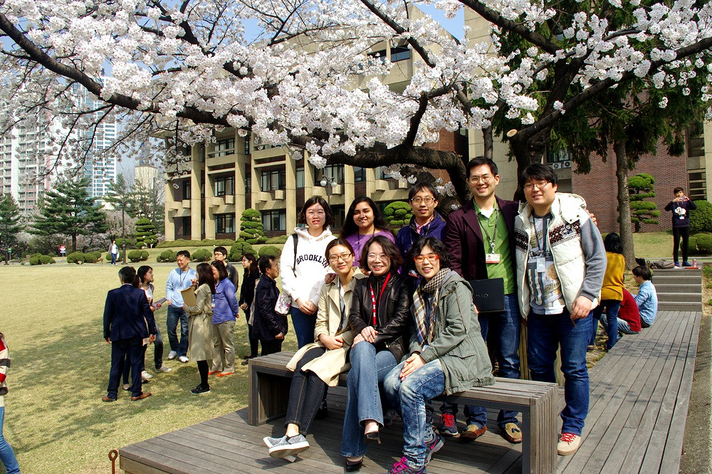Cherry blossom in KIST - 2014 Spring