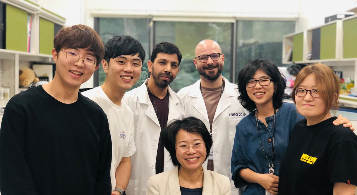 Group photo during YITP - 2019 Summer