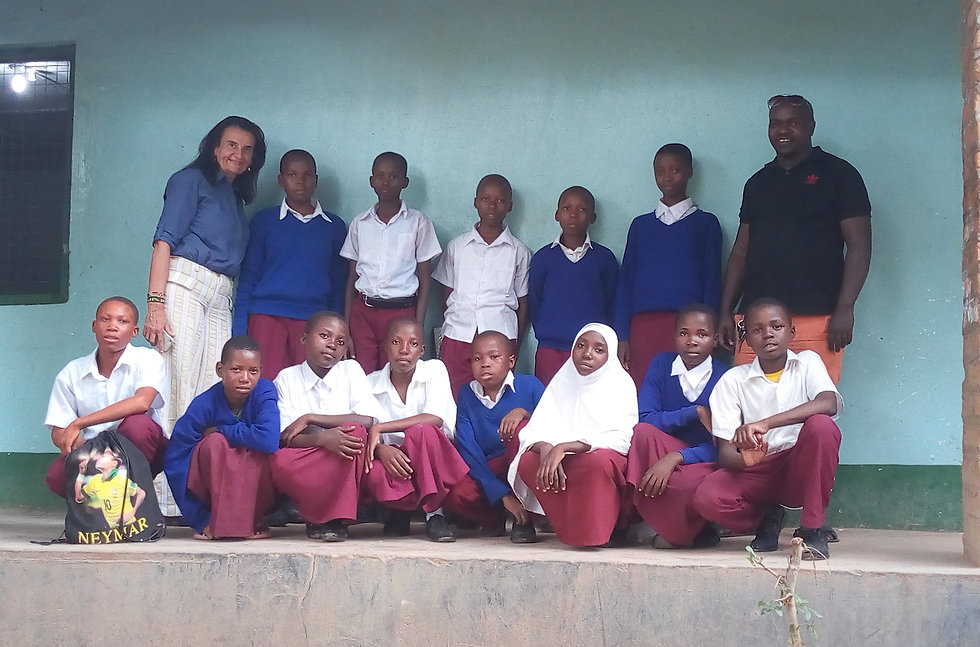 Some of our benificiaries at Idodi Secon