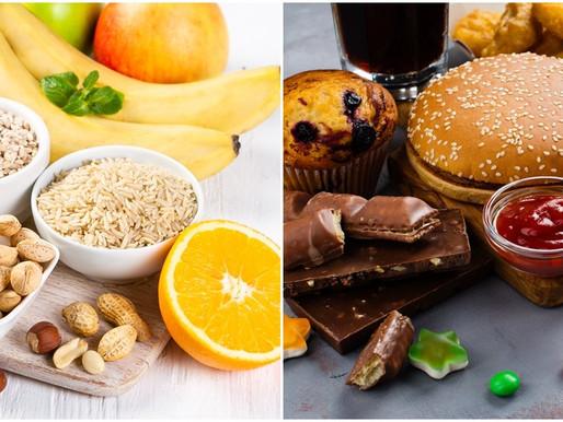 ¿Todos los carbohidratos son malos? Carbohidratos refinados y sin refinar.