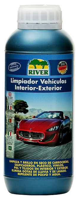 Limpiador Vehículos Interior-Exterior Profesional 1000 ml