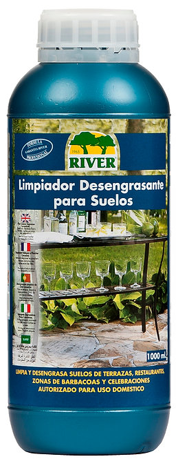 Limpiador Desengrasante Suelos Exteriores Profesional 1000 ml