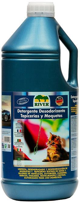 Detergente Desodorizante Tapicerías y Moquetas Profesional 4 Lt.