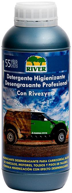 Detergente Higienizante Desengrasante Profesional 1000 ml.