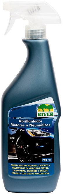 Abrillantador Motores y Neumáticos Profesional 750 ml.