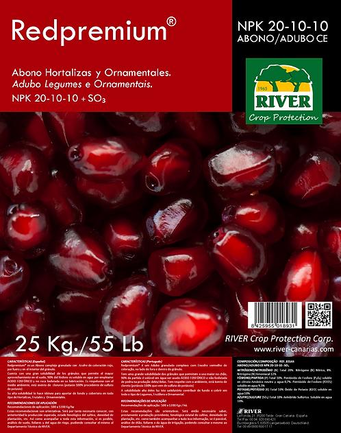 REDPREMIUM ABONO HORTALIZAS Y ORNAMENTALES NPK 20-10-10 + SO₃.