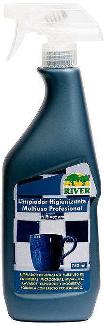 Limpiador Multiuso Higienizante Hogares Profesional 750 ml.