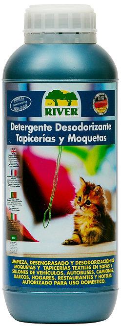 Detergente Desodorizante Tapicerías y Moquetas Profesional 1000 ml