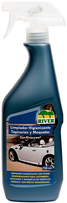 Limpiador Higienizante Tapicerías y Moquetas Profesional 750 ml.