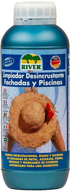 Limpiador Desincrustante Fachadas y Piscinas Profesional 1000 ml
