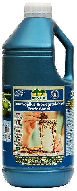 Lavavajillas Biodegradable Profesional 4 Lt.