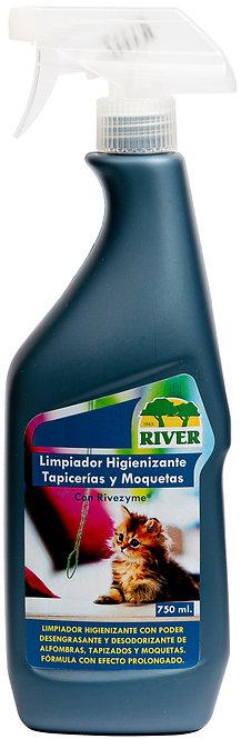 Limpiador Higienizante Tapicerías y Moquetas Profesional 750 ml
