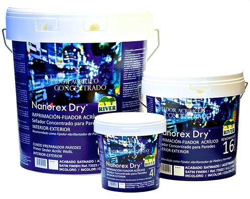 Nanorex Dry Imprimación Fijador ACRÍLICO 15 Lt. INCOLORO