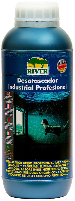 Desatascador Industrial Profesional 1000 ml