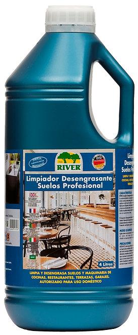 Limpiador Desengrasante Suelos-Pisos Profesional 4 Lt.
