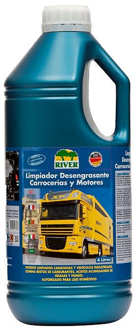 Limpiador Desengrasante Motores y Maquinaria Pesada 4 Lt.