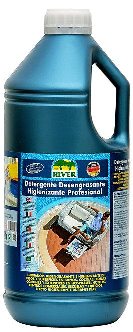 Detergente Desengrasante Higienizante Profesional 4 Lt.