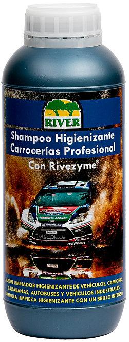 Shampoo Higienizante Carrocerías Profesional 1000 ml.