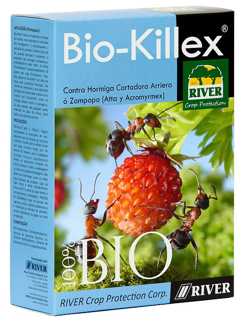 Bio-Killex Bioinsecticida-Fungicida Hormigas Cortadoras Arrieras 900 gr./2 Lb.