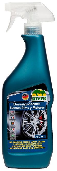 Desengrasante Llantas-Rims y Motores Profesional 750 ml