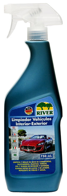 Limpiador Vehículos Interior-Exterior Profesional 750 ml