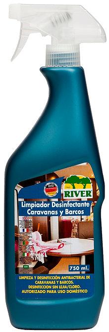 Limpiador Caravanas y Barcos 750 ml LISTO USO