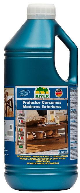 Protector Carcomas-Comején Maderas Exteriores Profesional 4 Lt.