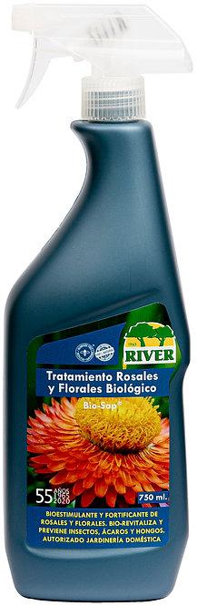 Tratamiento Rosales y Florales Biológico 750 ml
