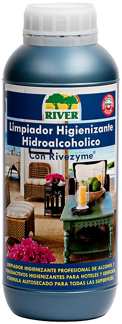 Limpiador Hidroalcoholico Profesional 1000 ml.