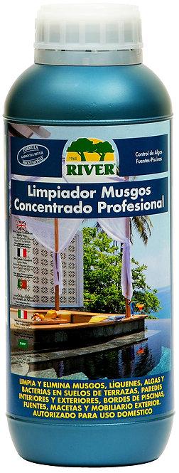 Limpiador Musgos Concentrado Profesional 1000 ml