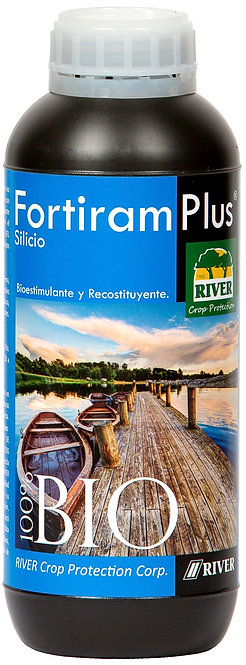 Bio-Fortiram Plus SILICIO Bioestimulante Acuicultura 1000 ml./1/4 gal.