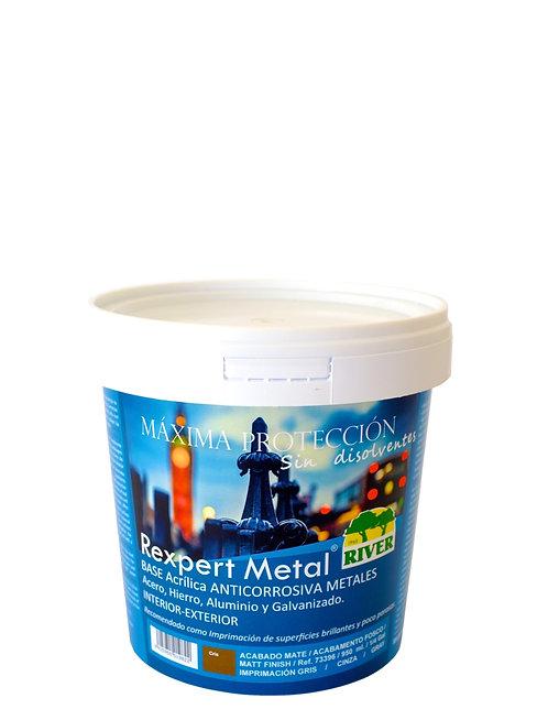 Rexpert Metal Base Anticorrosiva Acrílica 950 ml GRIS PLATA
