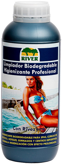 Limpiador Biodegradable Higienizante Profesional 1000 ml.