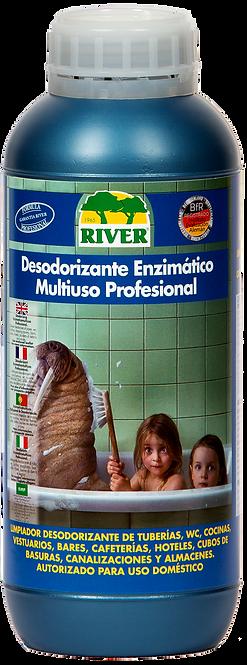 Desodorizante Enzimático Multiuso Profesional 1000 ml.